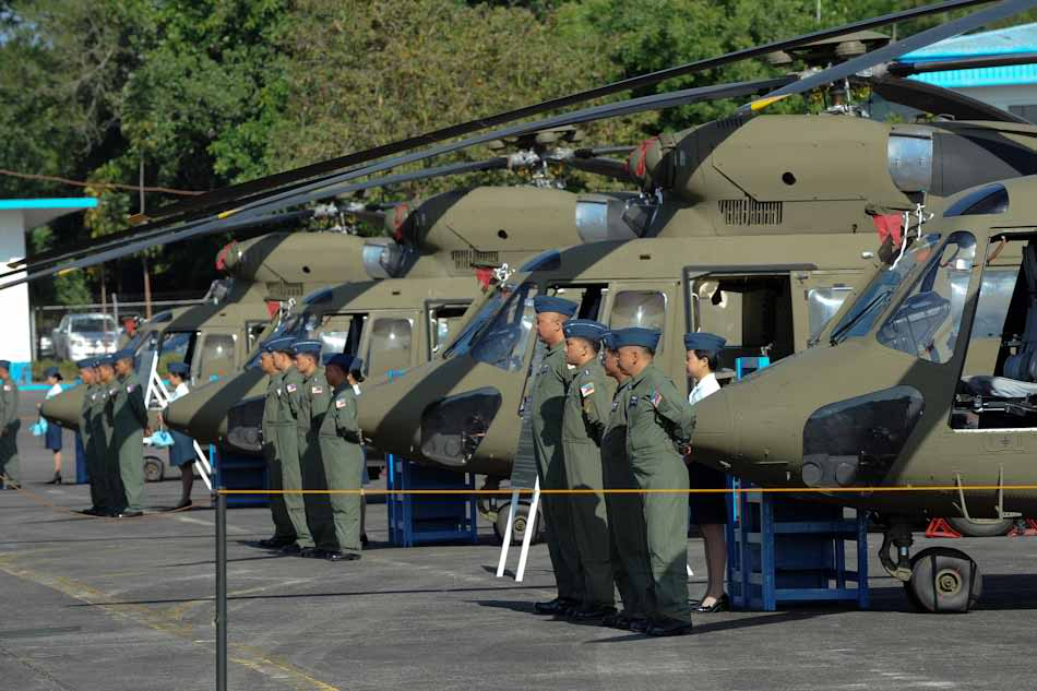 Sokol Helicopter Philippine Air Force